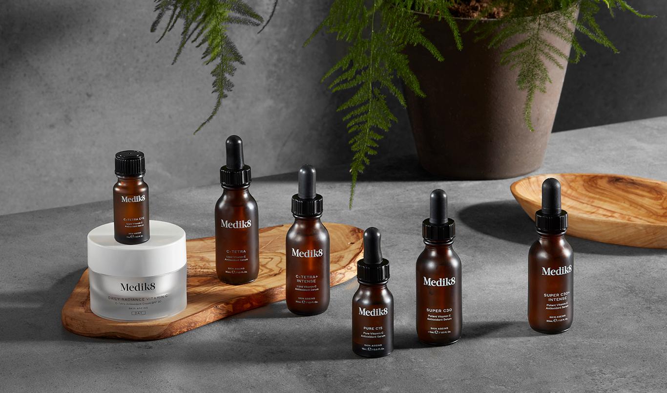 Vitamine C tegen huidveroudering